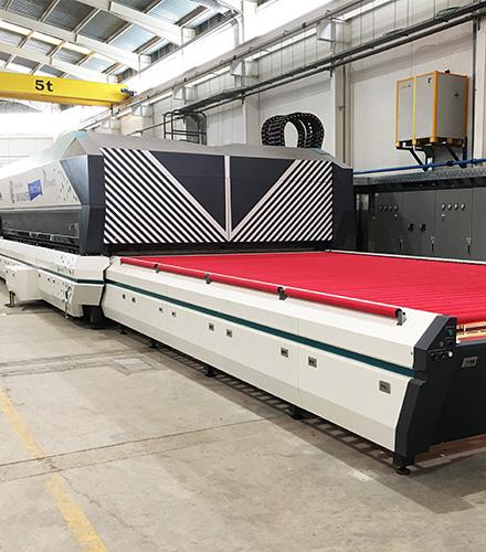 LandGlass installs a new UltraJet Jumbo Tempering Furnace at Cristalería Crevillente