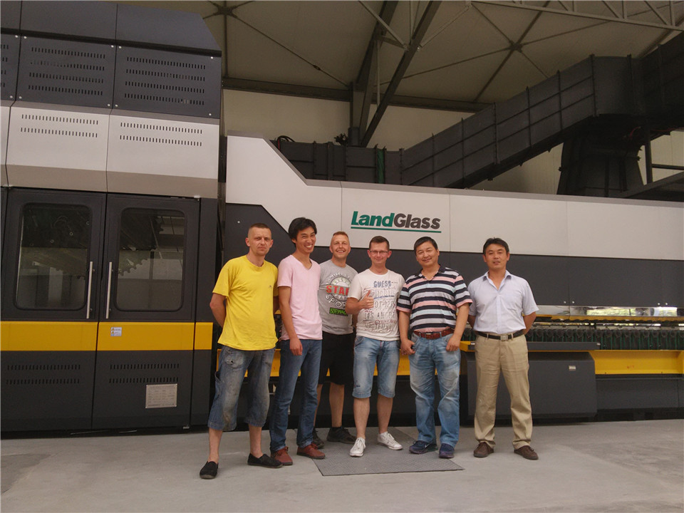 LandGlass Convection Tempering furnace in Poland